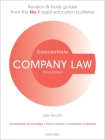 Company Law Concentrate: Law Revision and Study Guide Cover Image