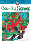 Creative Haven Country Scenes Color by Number Coloring Book (Creative Haven Coloring Books) Cover Image