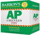AP Calculus Flash Cards (Barron's Test Prep) Cover Image
