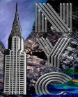 Iconic Chrysler Building New York City Sir Michael Huhn Artist Drawing Writing journal Cover Image