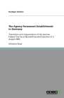 The Agency Permanent Establishment in Germany: Translation and interpretation of the German Federal Tax Court (Bundesfinanzhof) decision of 3 August 2 Cover Image