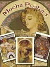Mucha Posters Postcards: 24 Ready-To-Mail Cards (Dover Postcards) Cover Image