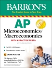 AP Microeconomics/Macroeconomics with 4 Practice Tests Cover Image