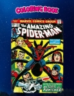 Coloring Book: The Amazing Spider-Man Comic Book Cover, Children Coloring Book, 100 Pages to Color Cover Image