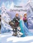 Frozen coloring book: Frozen coloring book Cover Image