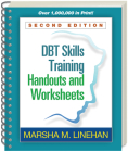 DBT Skills Training Handouts and Worksheets, Second Edition Cover Image
