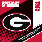 Georgia Bulldogs 2021 12x12 Team Wall Calendar Cover Image