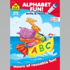 Alphabet Fun a Wipe-Off Book: Hours of Reusable Fun! Cover Image