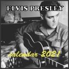 ELVIS PRESLEY calendar 2021: E.Presley wall calendar 2021 16 months 8.5x8.5 Glossy Cover Image