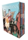 Olympians Boxed Set Books 7-12: Ares, Apollo, Artemis, Hermes, Hephaistos, and Dionysos Cover Image