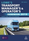 Lowe's Transport Manager's and Operator's Handbook 2019 Cover Image