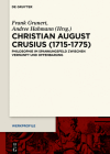 Christian August Crusius (1715-1775) (Werkprofile #11) Cover Image