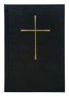 The Book of Common Prayer Basic Pew Edition: Black Hardcover Cover Image