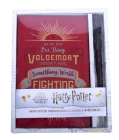 Harry Potter: Harry Potter Hardcover Ruled Journal and Wand Pen Set Cover Image