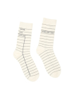 Library Card White Socks Large Cover Image