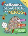 Actividades Didácticas para Niños: Juegos y Actividades para niños de entre 3 a 5 años de edad Cover Image
