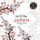 Vive Le Color! Japan (Adult Coloring Book): Color In; de-Stress (72 Tear-Out Pages) Cover Image