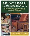 Arts & Crafts Furniture Projects Cover Image