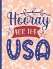 Hooray For The Usa: 2022-2026 Monthly Planner 5 Years-Dream It, Believe It, Achieve It Five Year Monthly Planner With Goals - Us Holidays Cover Image