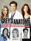 Grey's Anatomy Dots Lines Spirals Coloring Book: New Kind Of Stress Relief Coloring Book For Kids And Adults Cover Image