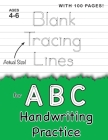 Blank Tracing Lines for ABC Handwriting Practice (Large 8.5