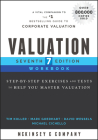 Valuation Workbook: Step-By-Step Exercises and Tests to Help You Master Valuation (Wiley Finance) Cover Image