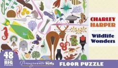 Charley Harper: Wildlife Wonders Floor Puzzle Cover Image