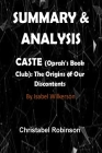 Summary and Analysis: Caste (Oprah's Book Club): The Origins of Our Discontents Cover Image