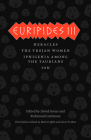 Euripides III: Heracles, The Trojan Women, Iphigenia among the Taurians, Ion (The Complete Greek Tragedies) Cover Image