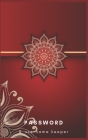 Password & Username Keeper: Luxury Red and Gold Internet Password Organizer: Password Book: Keep track of: usernames, passwords, web addresses in Cover Image