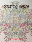 Secret Garden Coloring Book: Featuring Magical Garden Scenes, Whimsical Tiny and Hedden Homes Great Gift Idea Cover Image
