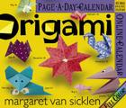 Origami Page-A-Day Calendar 2007 Cover Image