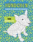 Malbücher für Erwachsene für Frauenherzen - Einfaches Level - Tiere - Hündchen Cover Image