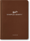 Keel's Simple Diary Volume One (Brown) Cover Image
