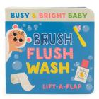 Brush, Flush, Wash (Busy & Bright Baby) Cover Image