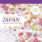 Japan: 70 designs to help you de-stress (Coloring for Mindfulness) Cover Image
