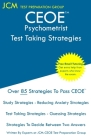 CEOE Psychometrist - Test Taking Strategies: CEOE 134 - Free Online Tutoring - New 2020 Edition - The latest strategies to pass your exam. Cover Image