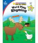 Word Play: Rhyming, Grades K - 1: Gold Star Edition (Home Workbooks: Gold Star Edition) Cover Image