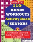 110+ BRAIN WORKOUTS Activity Book for SENIORS; Vol.2 Cover Image