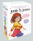 Junie B. Jones Complete First Grade Collection: Books 18-28 with paper dolls in boxed set Cover Image