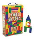 100 Wood Blocks Set Cover Image