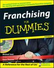 Franchising for Dummies [With CDROM] Cover Image