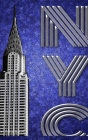 Iconic New York City Chrysler Building Artist Creative Drawing Journal Cover Image