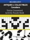 ANTIQUES & COLLECTIBLES Canadiana Trivia Crossword Activity Puzzle Book Cover Image