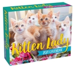 Kitten Lady 2021 Day-to-Day Calendar Cover Image