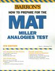 How to Prepare for the MAT: Miller Alalogies Test Cover Image
