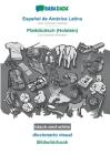 BABADADA black-and-white, Español de América Latina - Plattdüütsch (Holstein), diccionario visual - Bildwöörbook: Latin American Spanish - Low German Cover Image