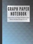 Graph Paper Notebook 4x4: Composition Grid Paper Notebook, Quad Ruled, 120 Sheets (Large, 8.5 x 11): Notebook with graph paper 4x4 Cover Image