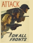 Attack On All Fronts: FY 2022 Daily 15-Month Planner For American Patroits Cover Image
