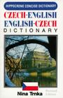 Czech-English/English-Czech Concise Dictionary (Hippocrene Concise Dictionary) Cover Image